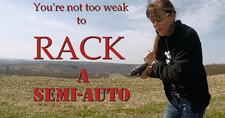 [VIDEO] My Gun Jammed… Now What?! You're Not Too Weak To Rack A Semi-Auto