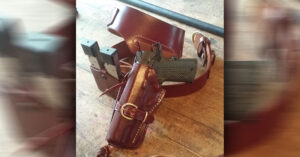 #DIGTHERIG – Joseph and his Springfield 1911 in a Triple K Leather Holster