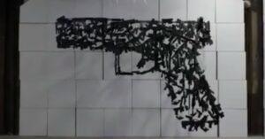 [VIDEO] Anti-Gun Art Turns Gun Owners On