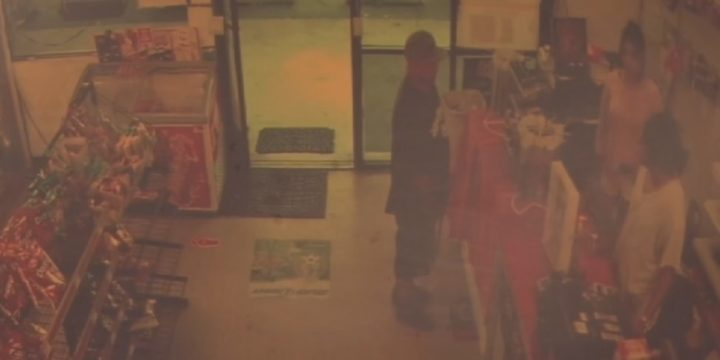 Store surveillance video