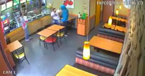 [VIDEO] Man Pulls Gun On Teen At Subway In Brazil For Reasons Unknown