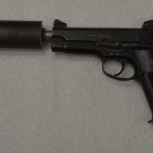 Suppressed pistol mk22