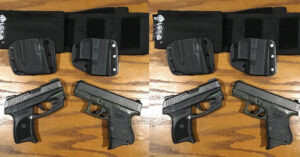 #DIGTHERIG – Kathy and her Ruger LC9 and Glock 27 in a CrossBreed Holster