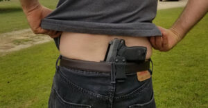#DIGTHERIG – Rob and his H&K USPC .45ACP in a MultiHolsters Custom Made IWB