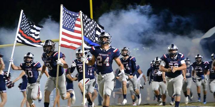 Californias Kern High School footbal team courtesy kernhigh com