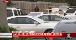 Man Shot In Head By Armed Citizen And Then Run Over By Accomplice In Robbery Gone Right