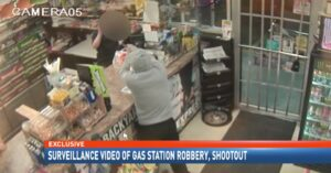 [VIDEO] 15-Year-Old Bystander Shot By Clerk As He Attempted To Shoot Armed Robber, Another Person Sends Bullet Into Home