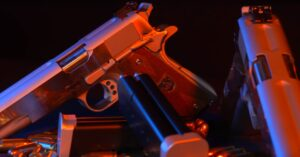 World Champion Shooter Takes on 2 Double 1911s Simultaneously [WATCH]