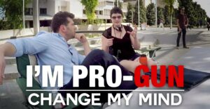 [VIDEO] Steven Crowder Goes To Campus, Tells People To Change His Mind About Being Pro-Gun