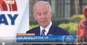 Joe Biden Says That The Texas Man, Who Stopped The Church Shooting Suspect, Shouldn't Have Had AR-15