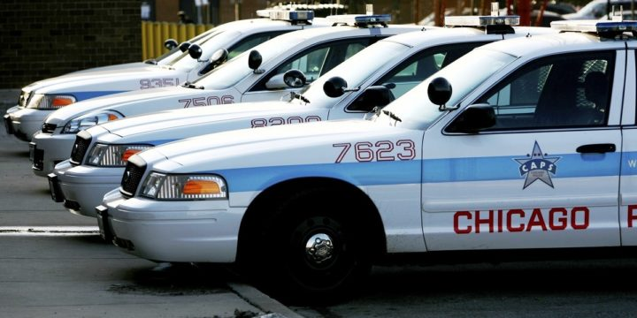 Chicago police cars