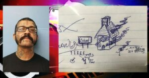 Man Faces Charges After Drawing Depicts School On Fire And People Being Shot