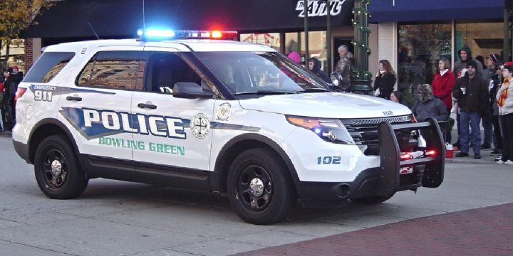 Bowling green police vehicle
