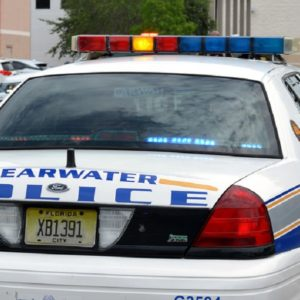 Clearwater police car
