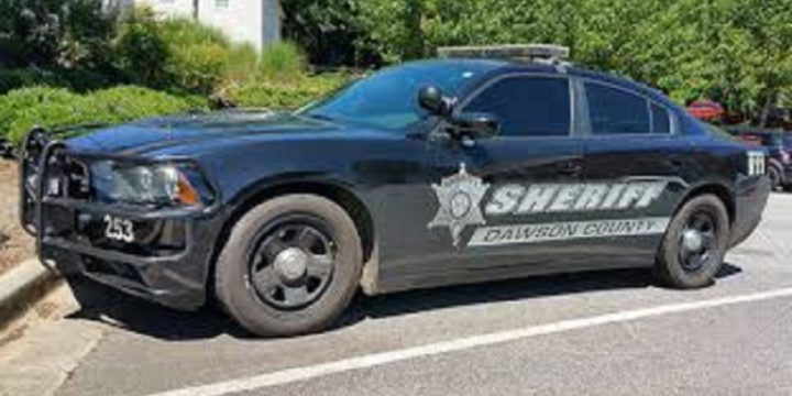Dawson county sheriff s car