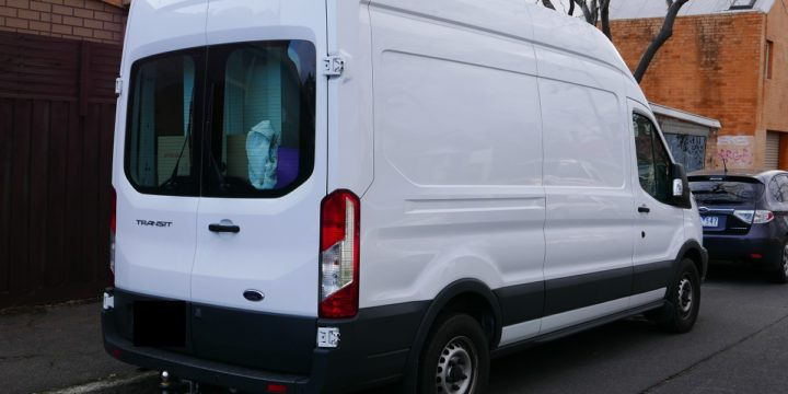 Windowless van