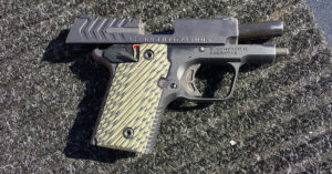 Shooting the Springfield Armory 911 .380 Pistol [SHOT Show 2018 Range Day]