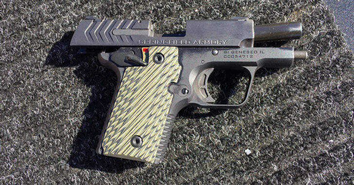 Springfield Armory 911 .380 concealed carry pistol
