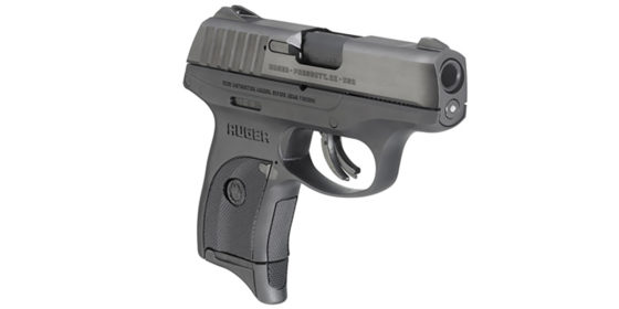 Ruger EC9s 9mm concealed carry pistol