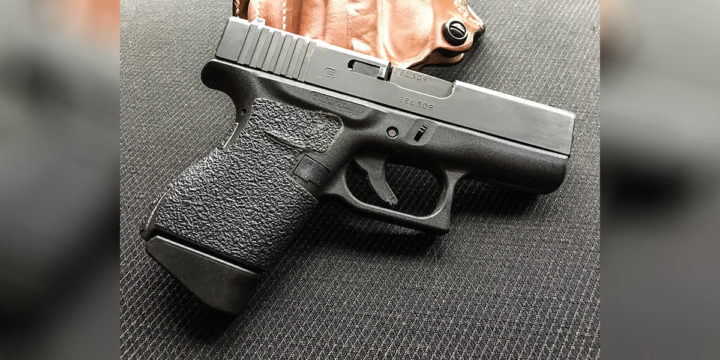 """The """"best"""" concealed carry gun for me is the GLOCK 43 9mm pistol."""