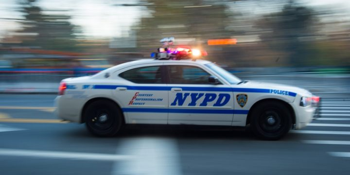 Nypd car moving