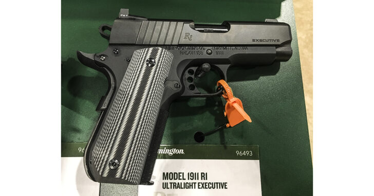 Remington R1 Ultralight Executive .45 ACP 1911 concealed carry pistol