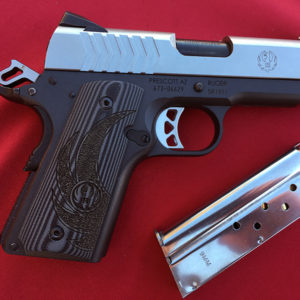 Ruger Lightweight Officer-Style SR1911 9mm