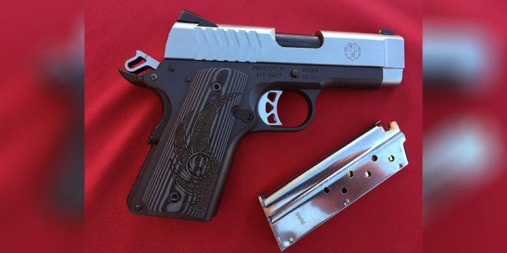 Ruger Lightweight Officer-Style SR1911 9mm