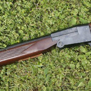 Sawed off shotgun