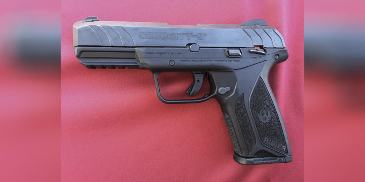 Ruger Security-9 9mm semi-auto pistol