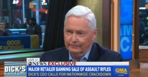 BREAKING: Dick's Sporting Goods BANS Sale Of 'Assault Rifles', And Will No Longer Sell Firearms To Anyone Under 21