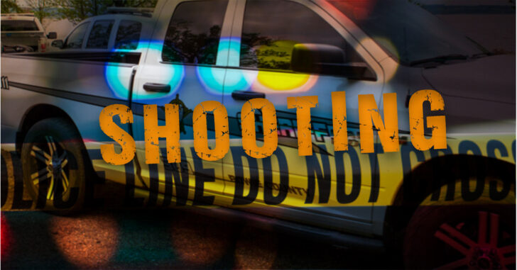 A Texarkana man is recovering from a gunshot would after attempting to break in to a home Wednesday evening.