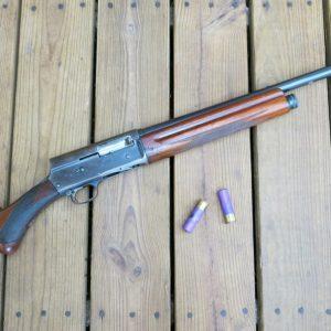 Shotgun on porch