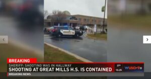 BREAKING: Armed Resource Officer Shoots And Kills School Gunman In Maryland