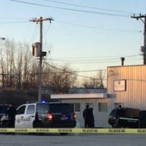 Milwaukee police scene
