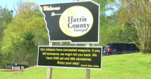Sheriff's New Sign Has People Talking, And Bad Guys Thinking Twice