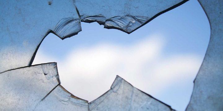Hole in window