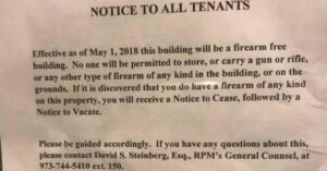 Housing Developer To Tenants: You Can't Have Guns On Property