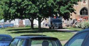 Gunman Shot And Stopped By Armed Resource Officer During High School Graduation Practice