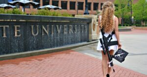 Kent State Graduate Poses With Rifle On Campus And The Internet Is Losing It