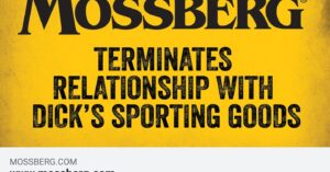 Mossberg, Just Like Springfield, Cuts Off Dick's