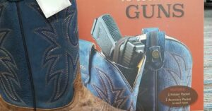 Concealed Carry Boots? They're Out There, And I Shouldn't Be Surprised