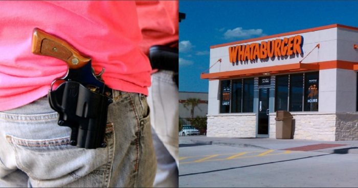 Open carry and whataburger