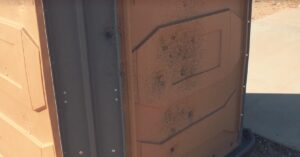 Video: Shot Up Porta Potty and Range – Vandalism in Our Ranks