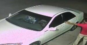 *WATCH* Irresponsible Gun Owner Shoots At Beer Thief Driving Away