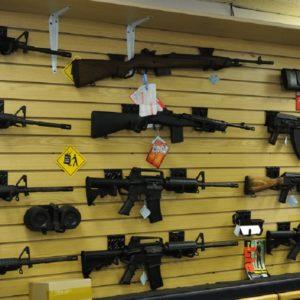 Rack of guns