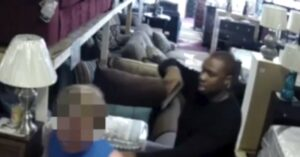 Something You Don't See Everyday During An Armed Robbery