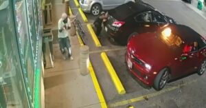 RAW VIDEO: Shootout Between Felons At Gas Station Has Everyone Ducking For Cover