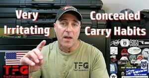 [VIDEO] Irritating Concealed Carry Habits