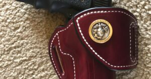 #DIGTHERIG – Alon and his Springfield Armory RO Elite Operator in a Tucker Gun Leather Holster